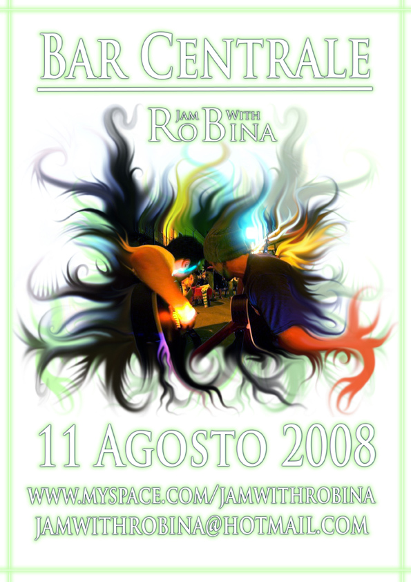 Jam with Robina - Bar Centrale - 11 August 200