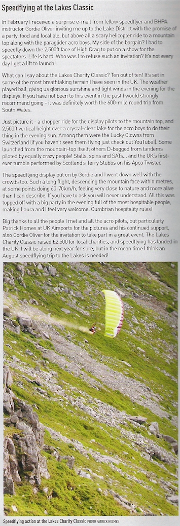 Daniel Sidoli featured in August's SkyWings magazine