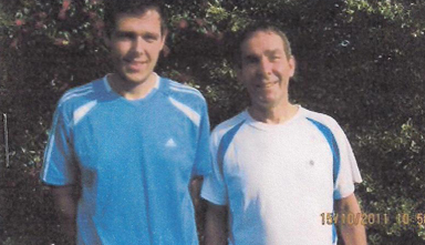 Peter and James Marenghi run for Multiple Sclerosis